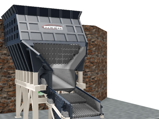 PAN FEEDERS AND GRIZZLY SCREENS
